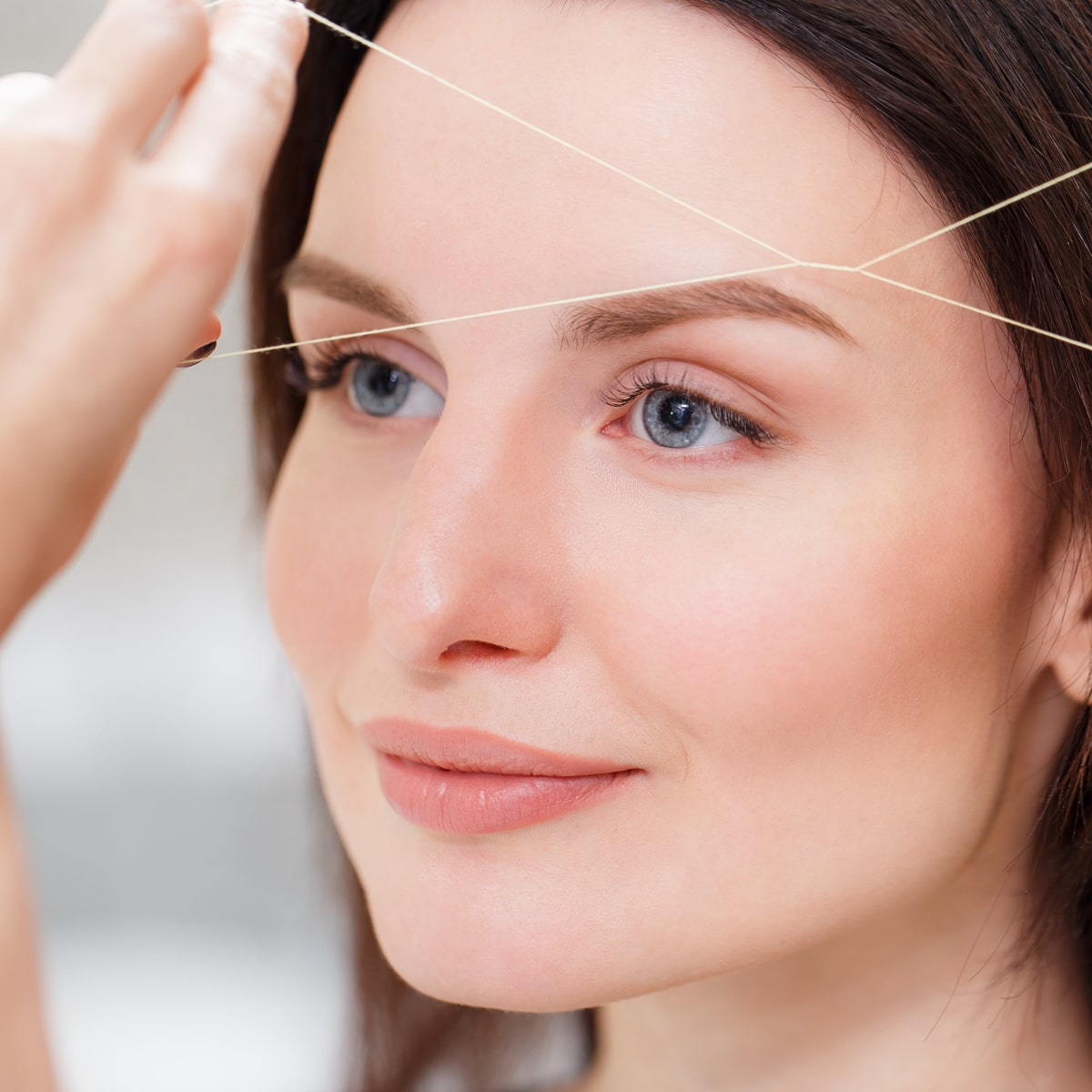Threading Eyebrows